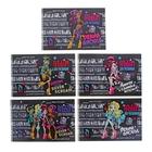 """Альбом для рисования А4, 24 листа на гребне """"Школа Монстров (Monster High)"""" обложка картон 185г/м2, блок офсет 100 г/м2, с перфорацией на отрыв, 5 видов МИКС"""