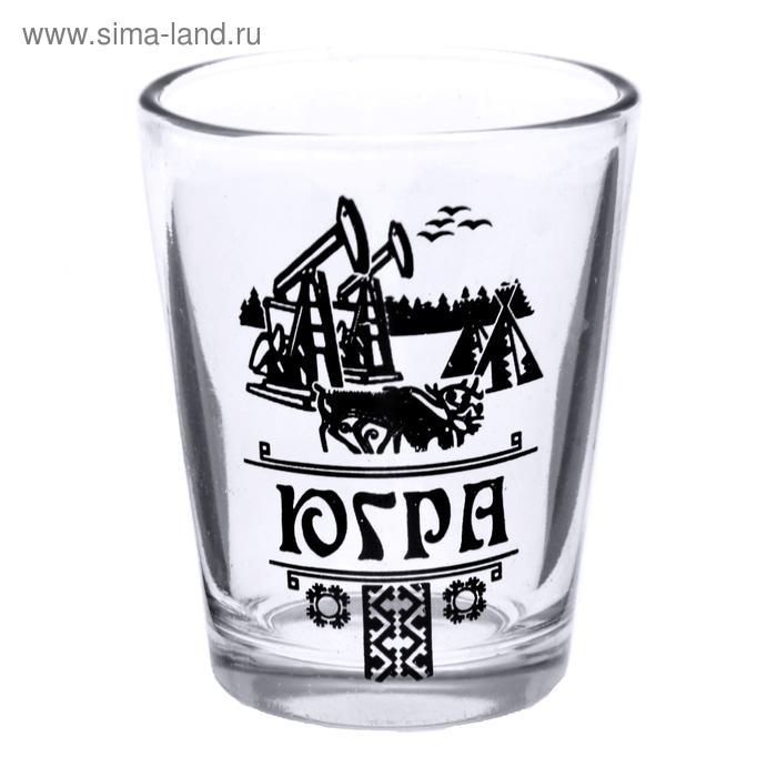 """Рюмка сувенирная """"Югра"""" 30 мл"""