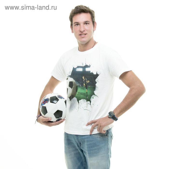 """Футболка мужская Collorista 3D """"Футбол"""", размер XL (50), 100% хлопок, трикотаж"""