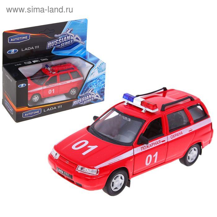 "Модель машины пожарная охрана ""Lada 111"", масштаб 1:36"
