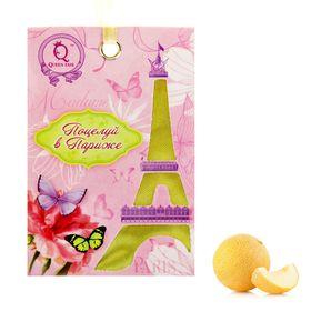 """Аромасаше сумочка с вырубным окном """"Поцелуй в Париже"""", дыня"""