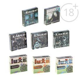 Презервативы «Luxe» Mini Box Мистика, 3 шт Ош