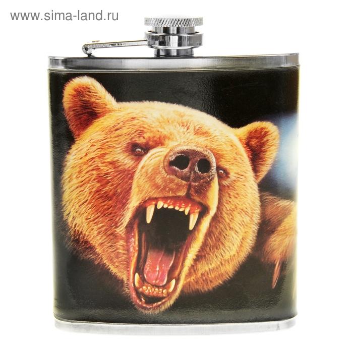 "Фляжка ""Медведь"" 210 мл"