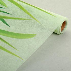 Флизелин с рисунком «Трава», 48 см х 4,5 м.