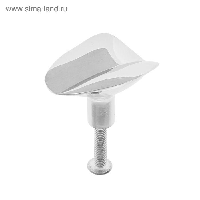Ручка-кнопка мебельная (мод.1940), цвет хром