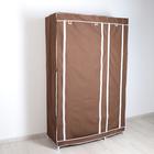 Шкаф для одежды 110х45х175 см, цвет кофейный