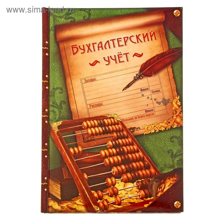 """Ежедневник """"Бухгалтерский учет"""", твёрдая обложка, А5, 96 листов"""