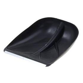 Ковш лопаты пластиковый, 400 х 380 мм, с алюминиевой планкой, тулейка 36 мм Ош