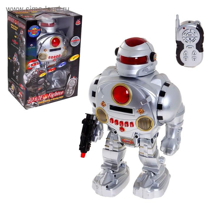 """Робот радиоуправляемый """"Космический воин"""", световые и звуковые эффекты, стреляет"""