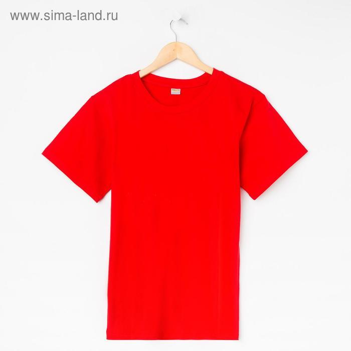 Футболка мужская Collorista, размер L (48), цвет красный