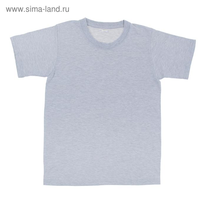 Футболка мужская Collorista, размер S (44), цвет серый