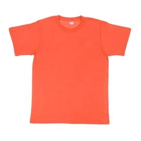 Футболка мужская Collorista, размер M (46), цвет оранжевый