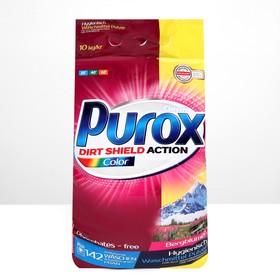 Стиральный порошок Purox Color, для стирки цветного белья, 10 кг