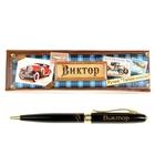 """Ручка в подарочном футляре """"Виктор"""""""