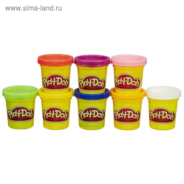 Пластилин Play-Doh, набор 8 баночек