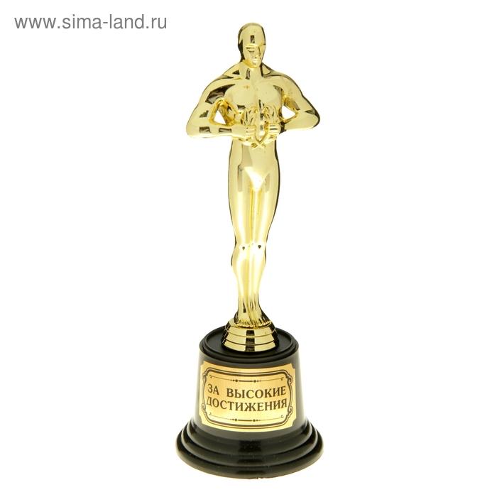 """Мужская фигура. Оскар на пластиковой подставке """"За высокие достижения"""""""