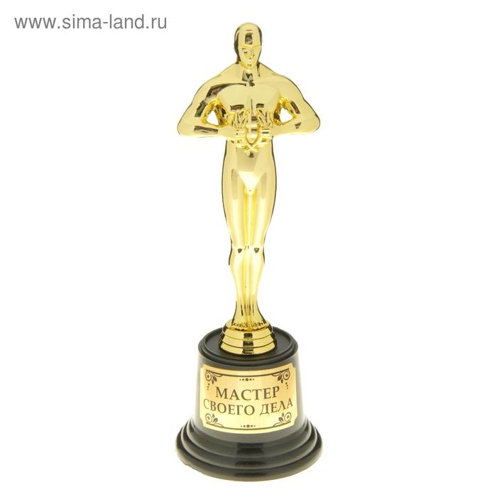"""Мужская фигура. Оскар на пластиковой подставке """"Мастер своего дела"""""""