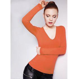 Джемпер женский бесшовный ARTG MAGLIA SCOLLO V MANICA LUNGA (orange, L/XL)