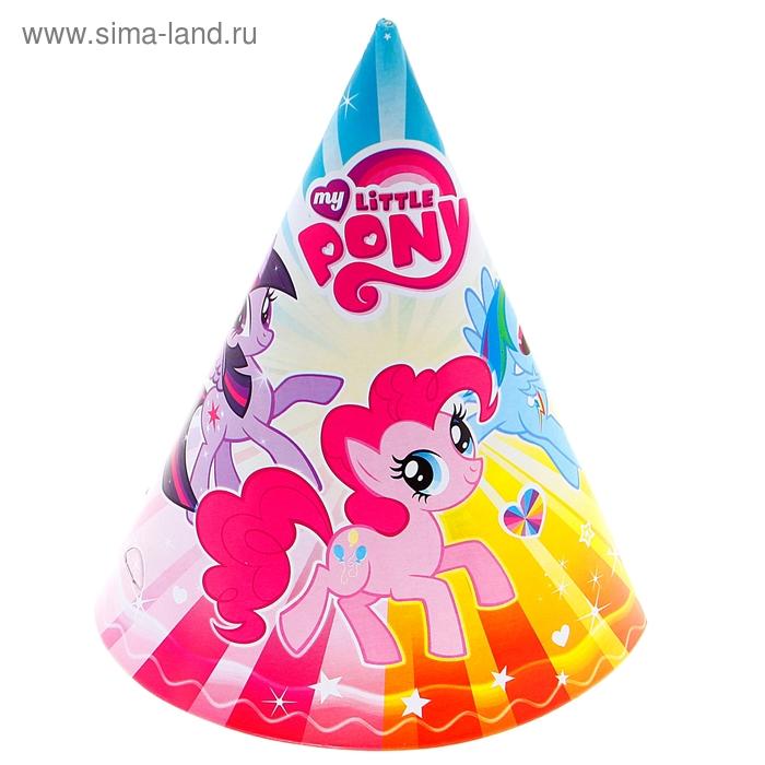 "Набор колпаков ""My little pony"", 6 штук"