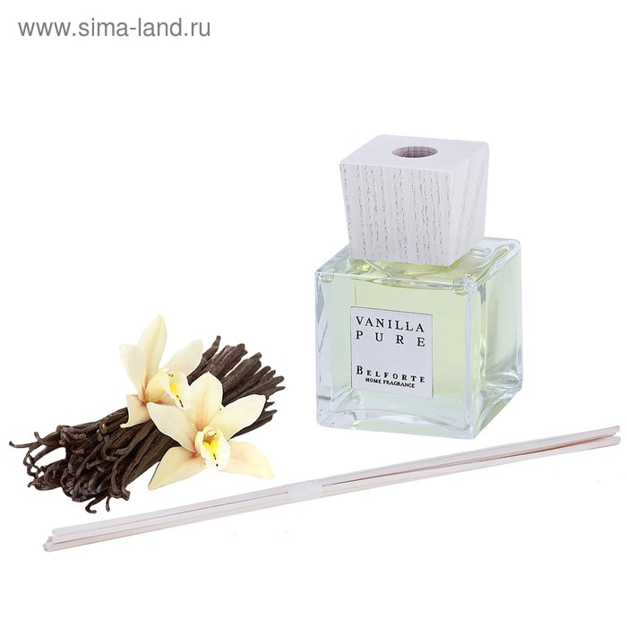 "Диффузор ароматический ""Cube"", Vanilla Pure 200 мл"