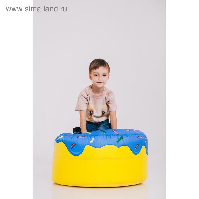 Футболка детская Collorista 3D Mouse, возраст 2-4 года, рост 92-110 см, цвет бежевый