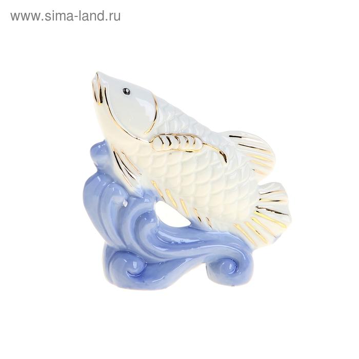 "Нэцкэ ""Рыба на волне"""