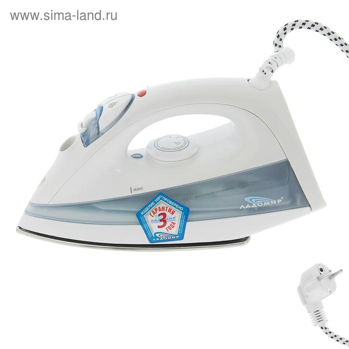 Утюг электрический Ладомир 43 с пароувлажнением