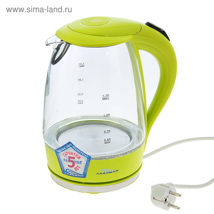 Чайник электрический Ладомир 104 арт.4, 1,7л