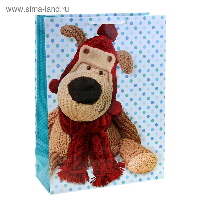 "Пакет подарочный ""Симпатяга Буффи"", 32 х 26 х 12 см   UK Greetings"