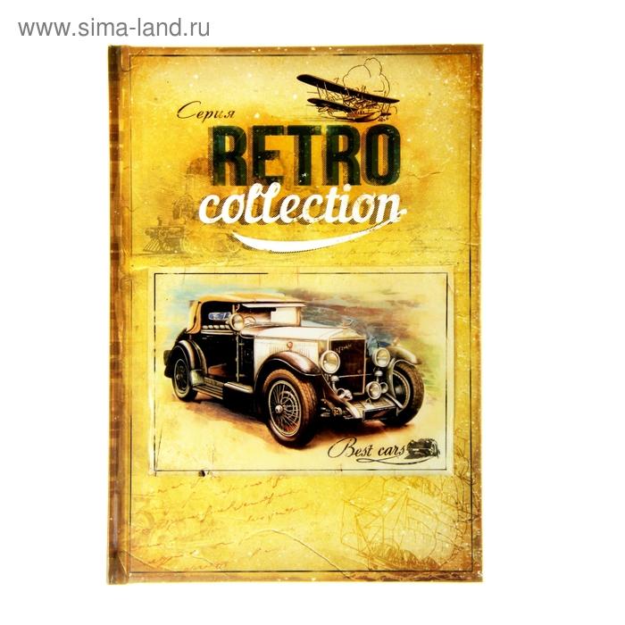 """Ежедневник """"Best cars. Серия Retro Collection"""" ,твёрдая обложка, А5, 96 листов"""