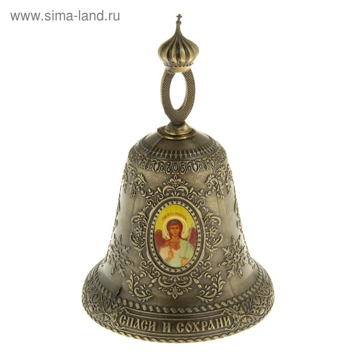 """Колокольчик """"Ангел-хранитель - Спас Нерукотворный - Богородица"""""""