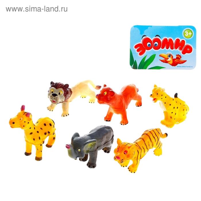 """Набор животных """"Африка"""", 6 штук"""