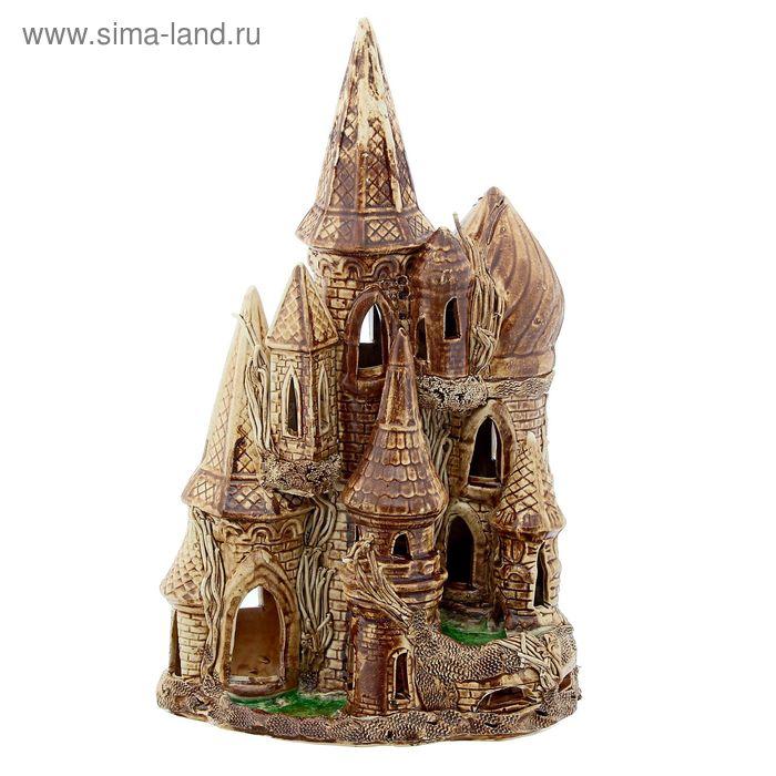 "Декорации для аквариума ""Замок"" купол"