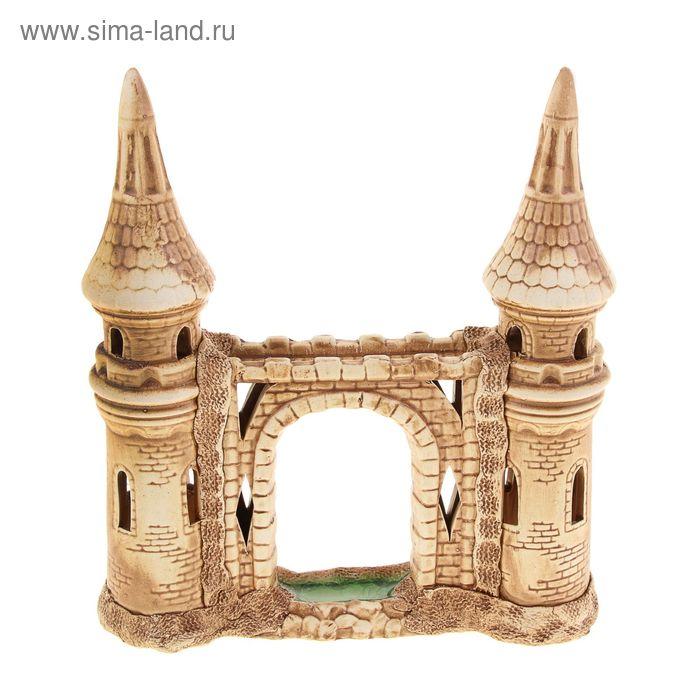 """Декорации для аквариума """"Башни с аркой"""""""
