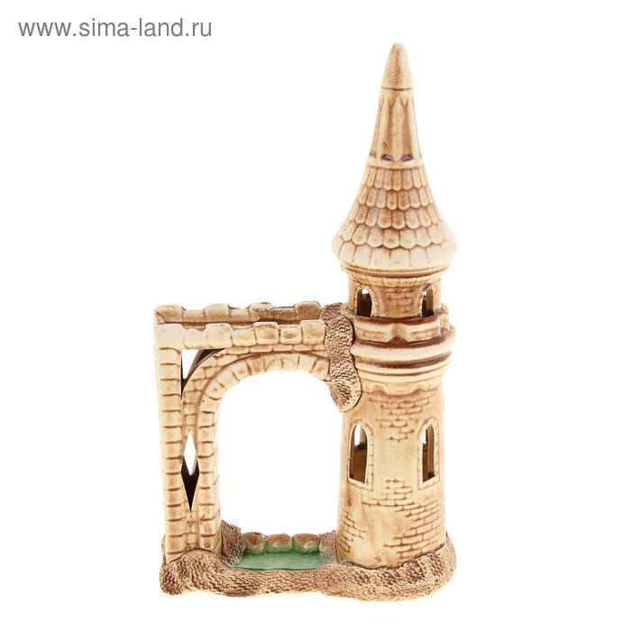 """Декорации для аквариума """"Башня с аркой"""""""