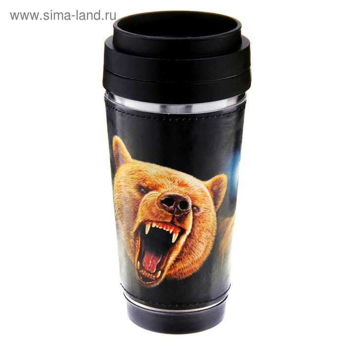 """Термокружка """"Медведь"""" 400 мл"""