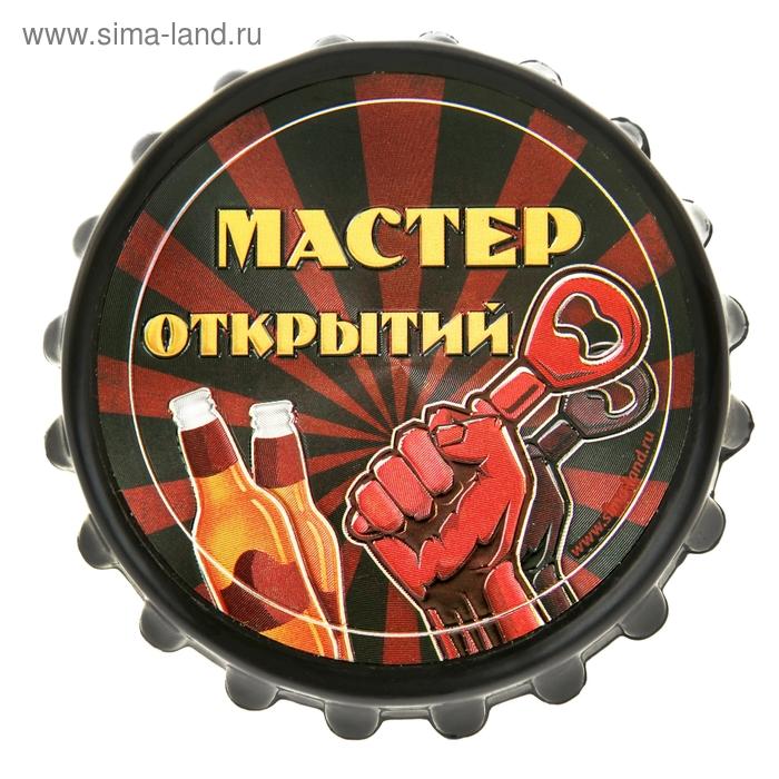 """Открывашка-магнит """"Мастер открытий"""""""