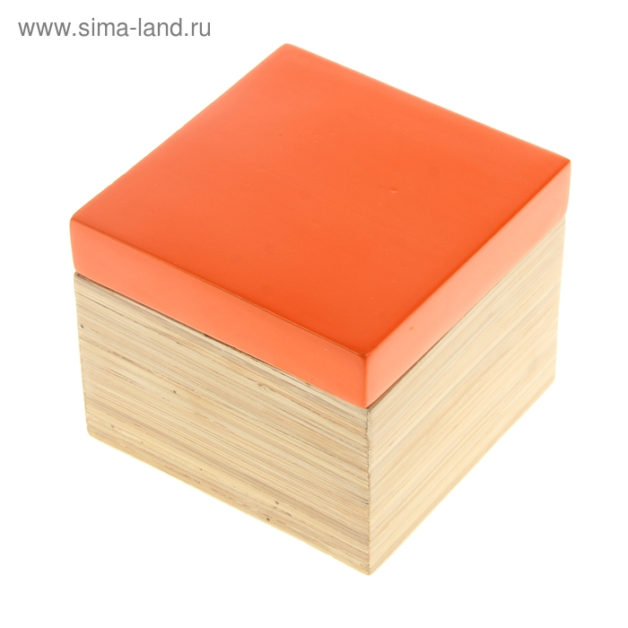"Шкатулка ""Оранжевый глянец"""