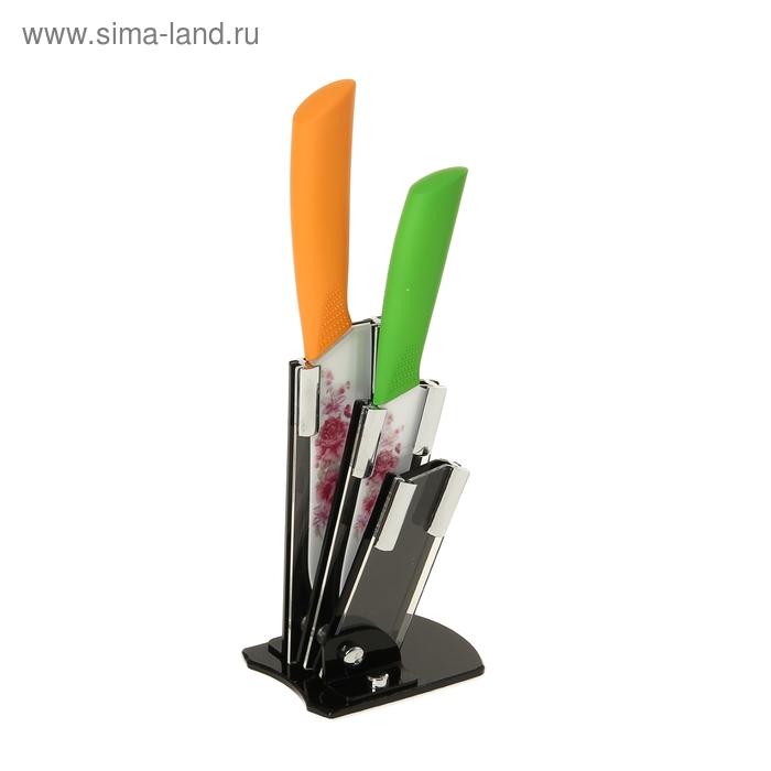 Набор ножей 2 шт 15/13 см на подставке УЦЕНКА