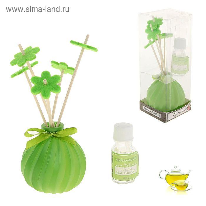 """Подарочный набор с аромамаслом """"Грация"""" 10 мл, аромат зелёный чай"""