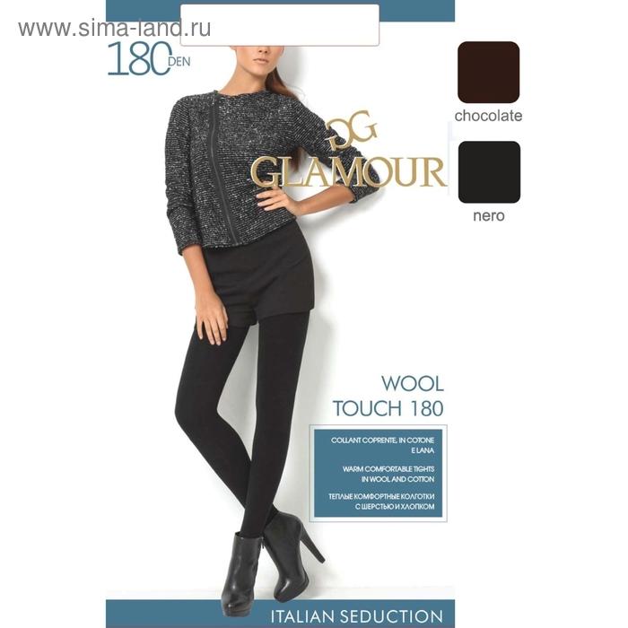 Колготки женские GLAMOUR Wool Touch 180 (chocolate, 3)
