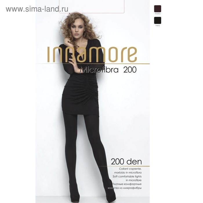 Колготки женские INNAMORE Microfibra 200 XL, XXL (moka, 5)