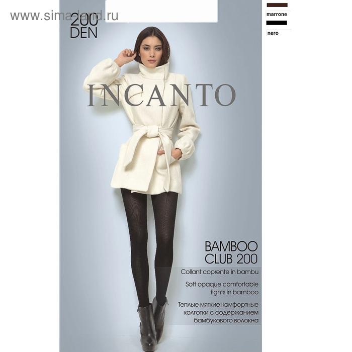 Колготки женские INCANTO Bamboo Club 200 (nero, 5)