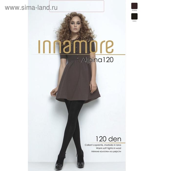Колготки женские INNAMORE Alpina 120 XL (moka, 5)