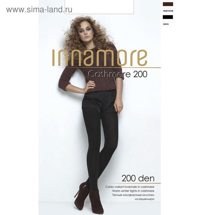 Колготки женские INNAMORE Cashmere 200 (marrone, 4)