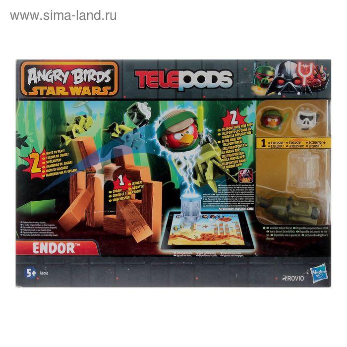 Игровой набор Angry Birds: Star Wars с запускаемым устройством, МИКС