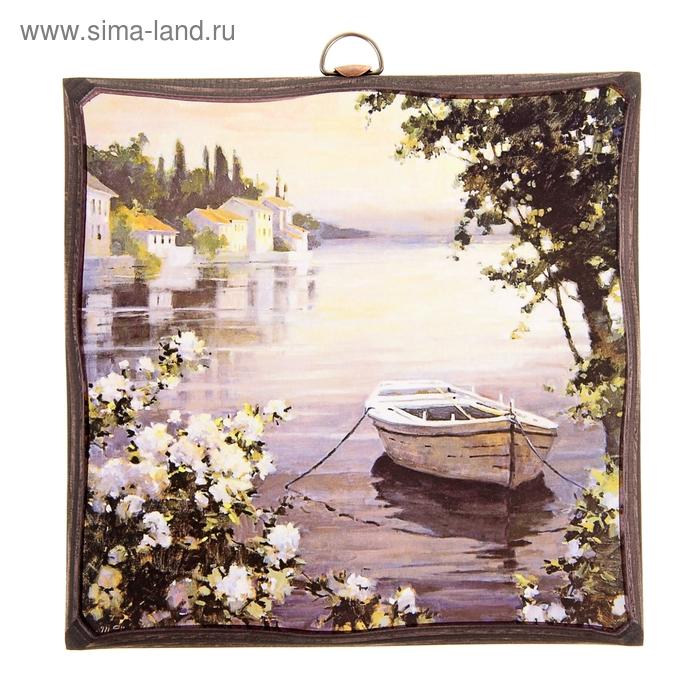 """Картина """"Венеция"""" лодка"""