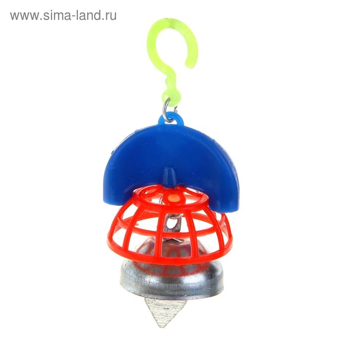 Игрушка для птиц  с колокольчиком №1
