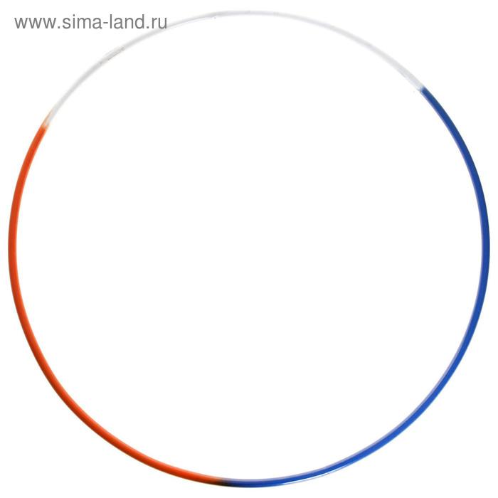 """Обруч гимнастический """"РАДУГА"""", стальной, d=900 мм, МИКС"""