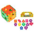 Развивающая игрушка «Конструктор-сортер Забавная математика»